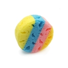 Soft colorful baby use seaweed bath soap sponge