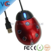 Trade assurance supplier funny ladybug computer mini mouse
