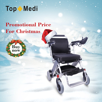 Rehabilitation Therapy Supplies cheap price handicapped folding electric battery powered lightweight wheelchair prices