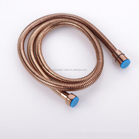 1.5m Stainless steel flexible Hose Rose Gold