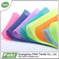 Good air permeability &soft mesh fabric for shoes