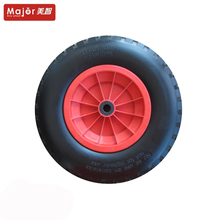 colorful pu foamed rubber tire garden cart/pu foamed child bicycle /bicycle wheel barrow tire