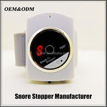 More Effective infrared bracelet snore stopper with USB charger#ZHYK-02
