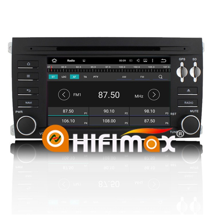 HIFIMAX Android 7.1 Car DVD Player For Porsche Cayenne Car Radio GPS Navigation WITH 1080P 2G RAM WIFI 3G INTERNET DVR SUPPORT