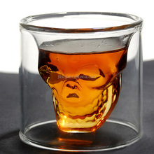 B2B Marketplace Platform Double Wall Personalized Glass Cup For Wine