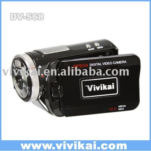 vivikai 3.0 TFT LCD video camcorder/digital still camera with MP3 player&MPEG4&audio record&PC camera&TV out
