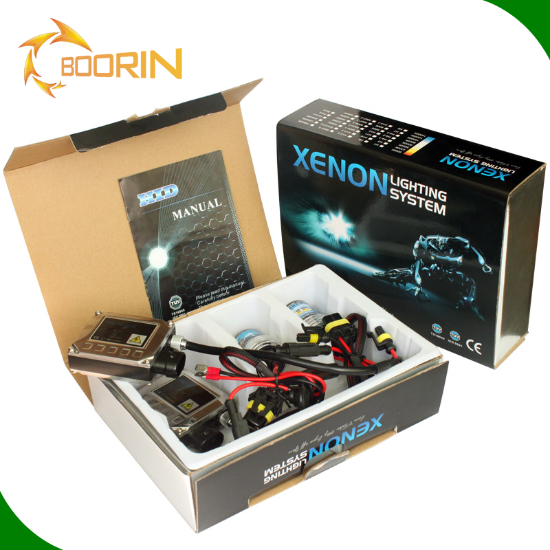 Boorin&Matec price Best quality <strong>12V</strong> <strong>35W</strong> H1 H3 H7 kit HID Xenon Headlight slim ballast for Car Accessories