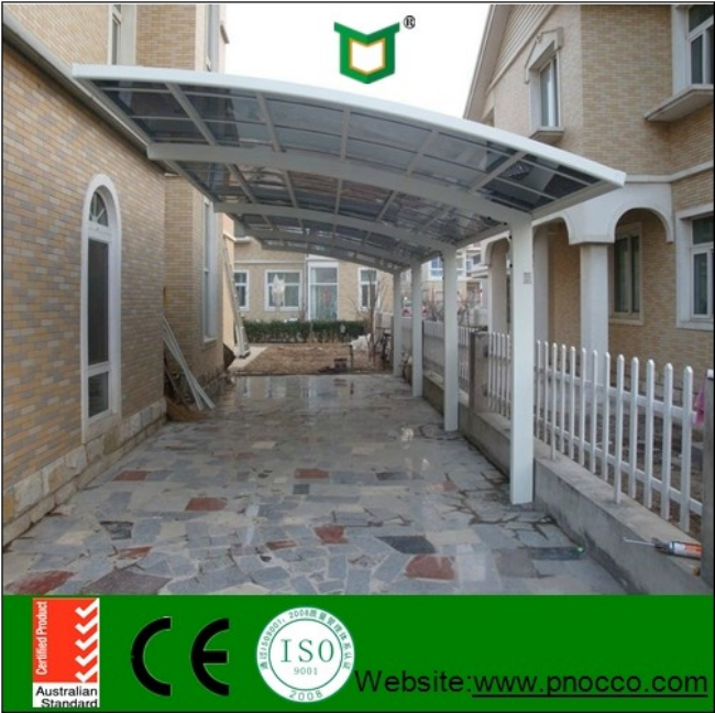 Car Shed Design In Garage Aluminum Car Shed Cover With Polycarbonate Roof