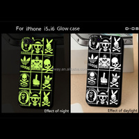 Wholesale cheaper phone case for iphone and other brand glow case pc hard case