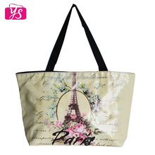 Cheapest fashion pu leather recyclable shopping bag wholesale
