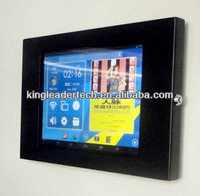 Android Quad-Core Tablet PC with Matt Black Tablet Stand Enclosure