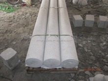 Grey Decorative Natural Stone Marble Column