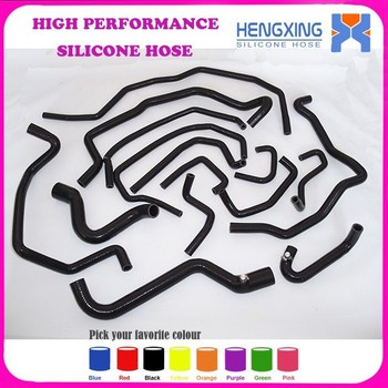 High Performance Silicone Intake/Radiator/Coolant/Intercooler Hose Kit For Renault 5 GT R5 15pcs Silicone Turbo Hose Kit