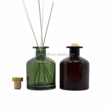 250ml glass reeds diffuser bottle perfume bottle with stopper
