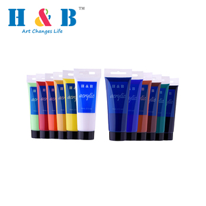 HB supplying for superior quality wholesale diy color acrylic artist paint