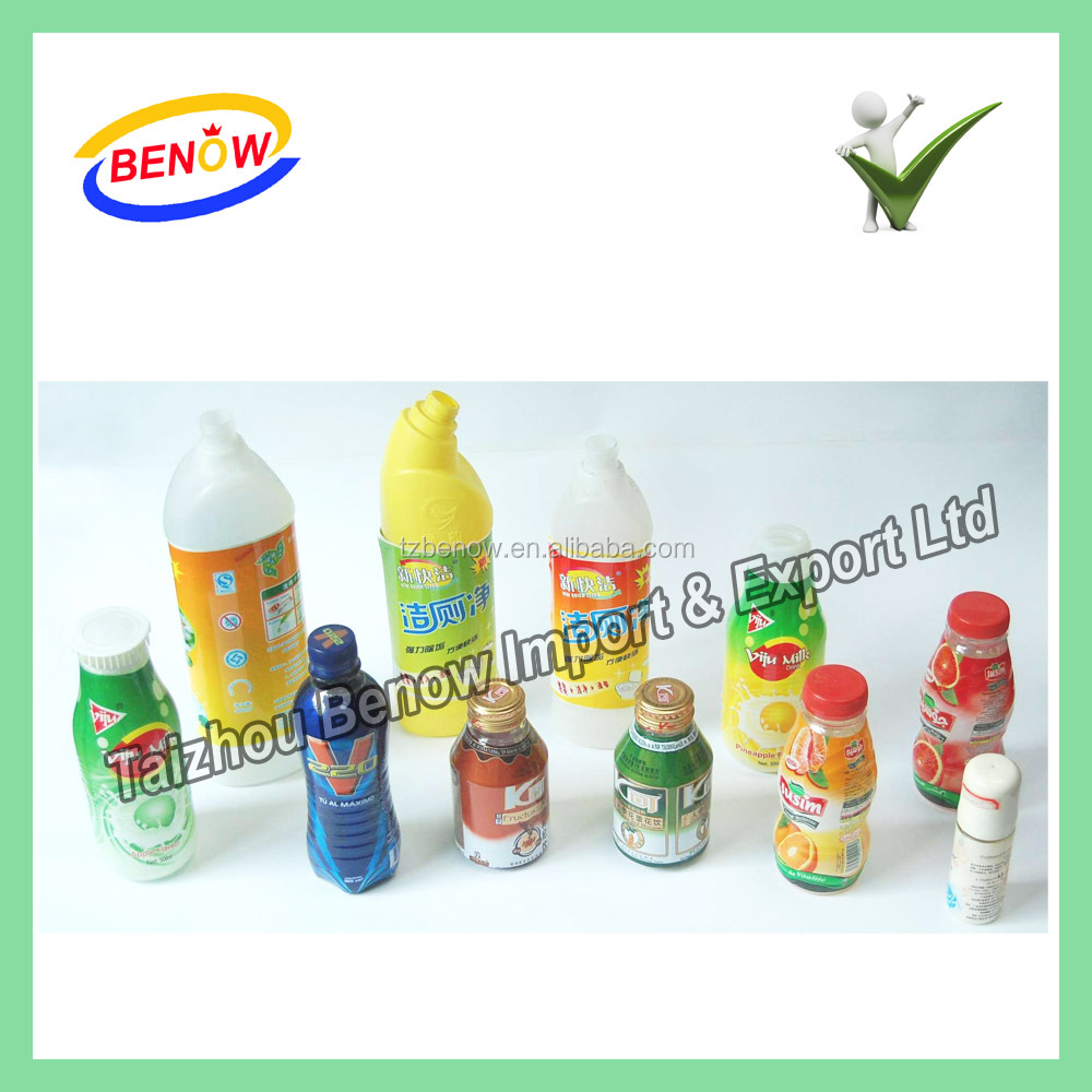 Best Selling Drink Bottle Shrink Sleeve Label Maker in China