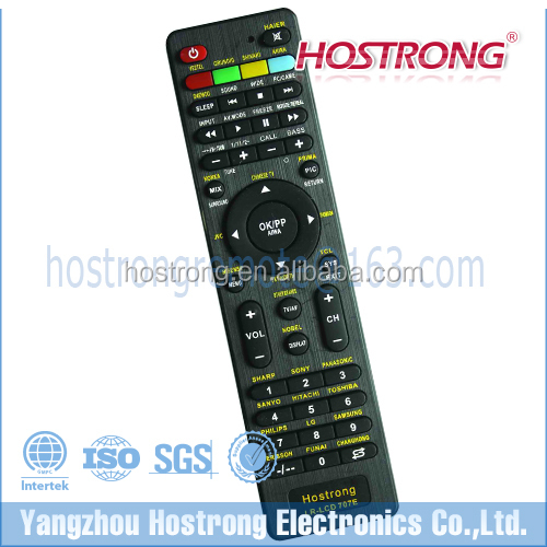 LR-LCD 707E TV/VCD/DVD/LCD/LED/satellite universal receiver remote control for Thailand