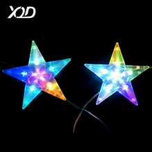 outdoor landscape lighting white and warm white star ramadan decorations