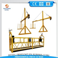 ZLP630 Building Facade Construction electric steel suspended cradle