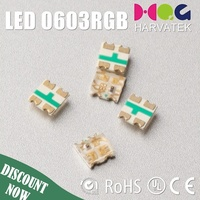 High Lumens surface mount sanan epistar chip 0603 4-pin rgb led diode
