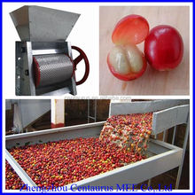 2015 best price and high capacity peeler for coffee beans/coffee skin cleaning machine/coffee bean peeler machine