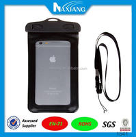wholesale hot selling high quality pvc waterproof underwater phone case