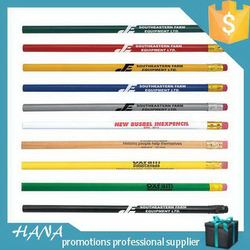 Best quality hot sale hb pencil with eraser office supplies
