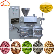 Multifunction Energy Saving Hot Press Cotton Seed Sunflower Groundnut Screw Press Oil Expeller Factory Price Oil Making Machine