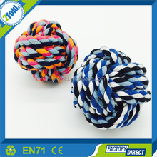 Knots Rope Rope Dog Toys Ball Throw
