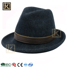 JAKIJAYI wide brim felt fedora hats fashion style wholesale felt hillbilly hat