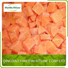chinese frozen carrot in dice