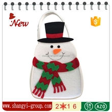XM9-31 Popular palm tree Christmas decorations snowman gift bag