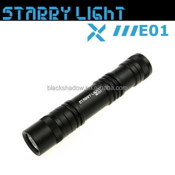StarryLight E01 XPE LED everyday carry flashlight torch
