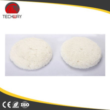 sheepskin wool buffing polishing pad