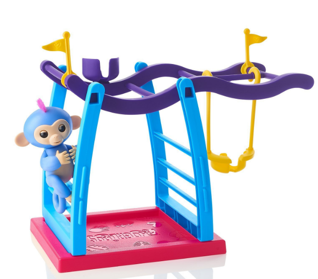 Monkey Playset Bar Playground For Interactive Baby Monkey