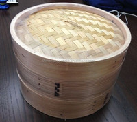 Wholesale China new design 10inch Bamboo food steamer