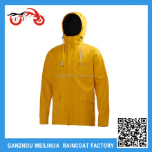 ARONXU best prices polyester teflon coating 100% waterproof custom vinyl opaque raincoat