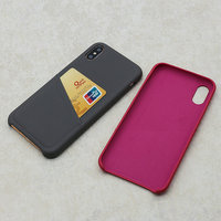 customized personal mobile case, promotional PU phone case,custom leather mobile phone case with card holder