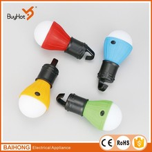 BH-6056C LED Hanging Camping Bulb with 3pcs AAA Battery Powered Hanging Camping Lantern