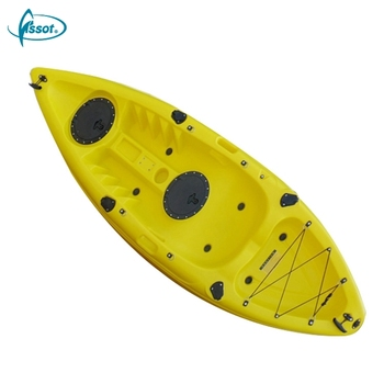 CE Rohs standard plastic rowing boat, rotomolded boat, sit in kayak