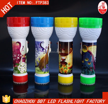 Hand LED Flash Torch Battery Light