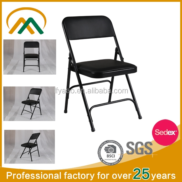 Wholesale comfortable folding chair metal frame KP-C1310