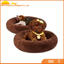 Best selling products round hamburger pet beds for dogs
