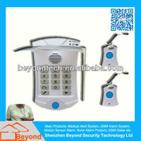 Portable Wearable Panic Button Alarm Systems With Intercom And Wrist Watch Button