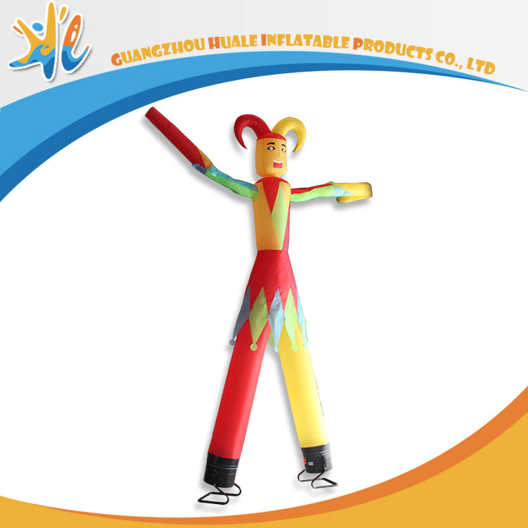 PVC Material Advertising Jester Inflatable Air Dancer