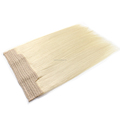 20inches Blonde #613 Chinese Virgin Hair Halo Extensions With Lace