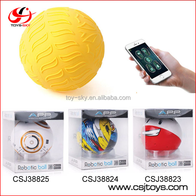 Electronic Pet Wireless APP bluetooth Controlled Amphibious Toy Smart Sphero Robotic Ball for kids