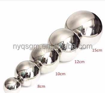 ISO Certification High polidhed Surface Hollow stainless steel ball 1200mm 1500mm for decoration
