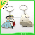 Wholesale promotion new design Couple Love Keychains