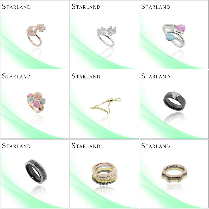 Starland milky way Fashon Design Hot Sell Silver Ring Jewelry co ltd